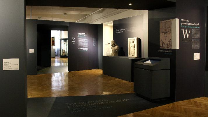 modułowe systemy wystawiennicze projekt wystawy szlachta śląska muzeum miedzi wejście