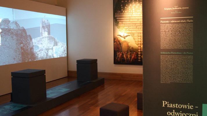 projekt wystawy szlachta śląska muzeum miedzi projekcja
